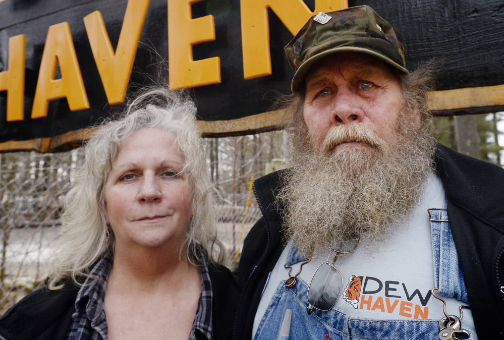 Bob and Julie Miner, owners of DEW Haven in Mount Vernon.
