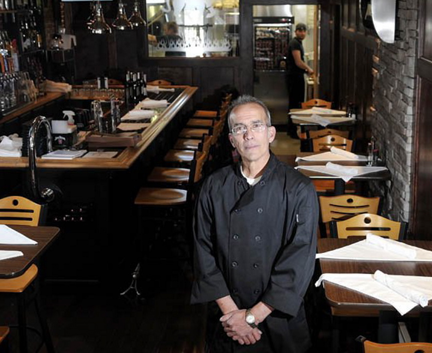 The city of Gardiner sued Peter Powers for failing to repay a $40,000 business loan that helped him open Alex Parker's Steakhouse, above, in late 2012. It closed in November 2014.