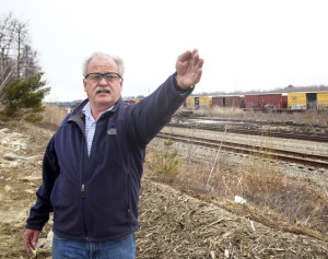 Casco Bay Steel owner Bryon Tait talks about his plans to develop rail access to the waterfront.