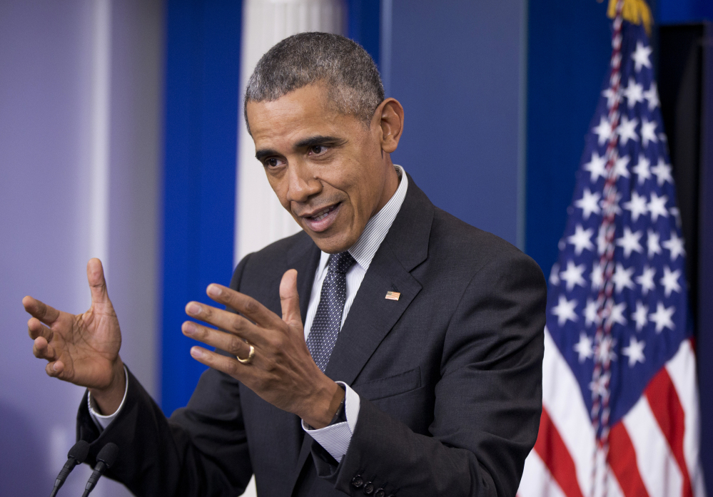 President Barack Obama on Tuesday praised efforts by the Treasury Department to deter a business practice known as tax inversion, in which U.S. companies locate their business interests, on paper, elsewhere to pay lower taxes.