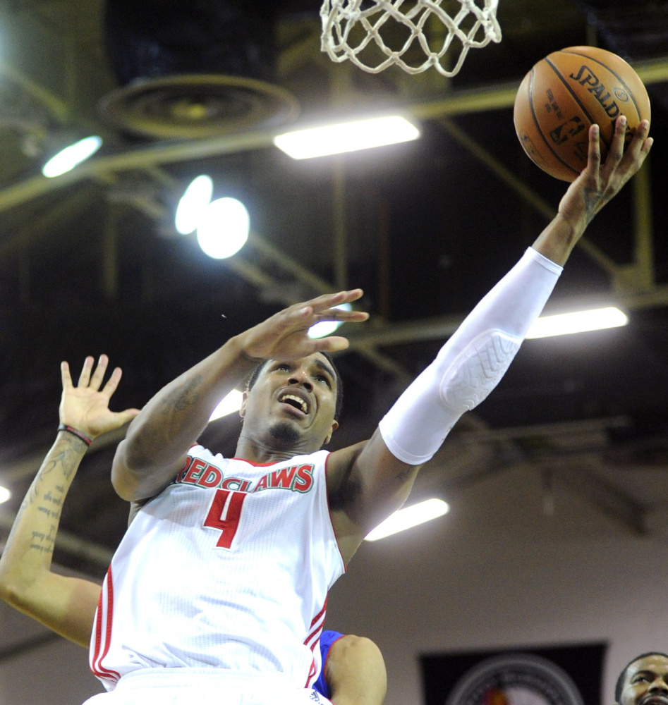 Coty Clarke and his teammates on the Maine Red Claws will play in the Cross Insurance Arena for the first time, and it's in a must-win game.