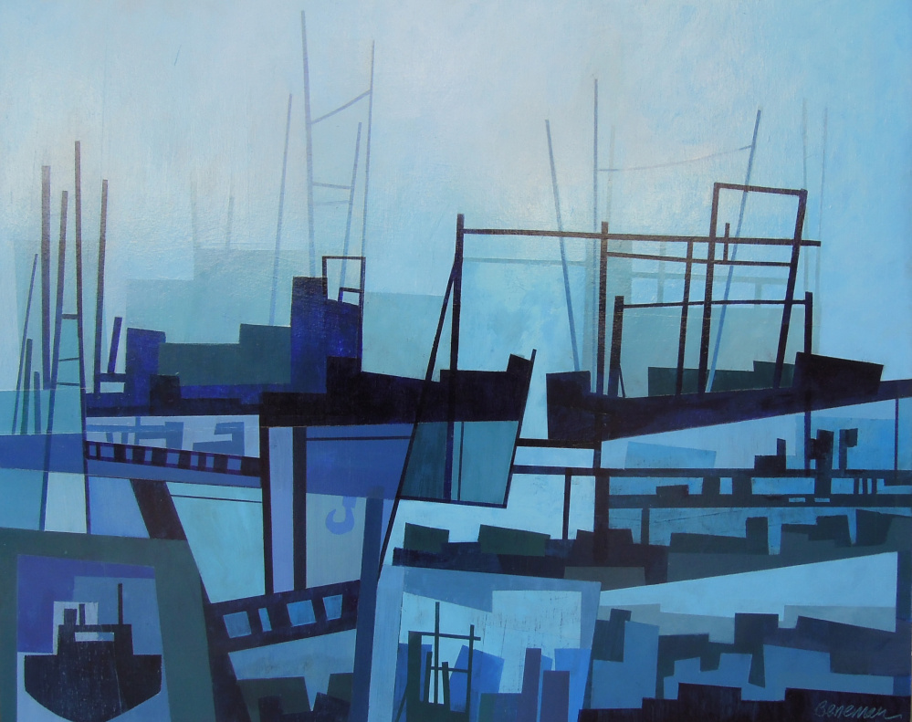 "Courtesy of Greenhut Gallery ""The Working Waterfront,"" Chris Beneman"