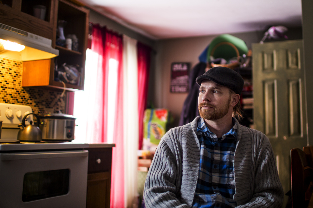 "After years of using opiates whose side effects were taking a toll, Garrett Guindon, a 34-year-old medical marijuana patient from Saco, has switched to a tincture to treat his pain. ""Cannabis is the healthiest medication for me,"" he says."