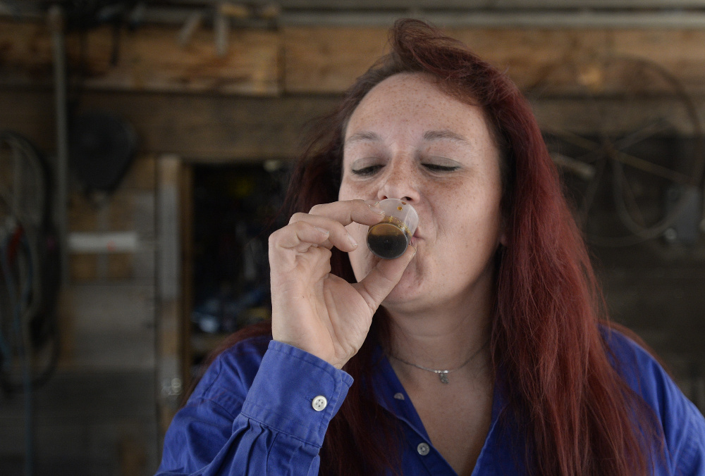 Michelle Ham of Shapleigh says her life has improved dramatically since she started using medical marijuana to treat her chronic pain in 2012.