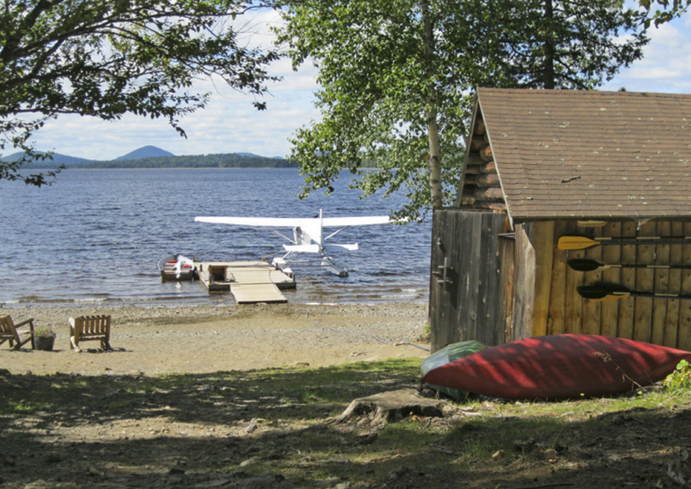 Libby Camps on Millinocket Lake in Aroostook County is favored by fishermen in pursuit of native brook trout.