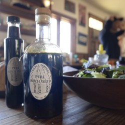 TEMPLE, ME - APRIL 15: Temple Tappers Pure Birch Syrup Friday, April 15, 2016. (Photo by Shawn Patrick Ouellette/Staff Photographer)
