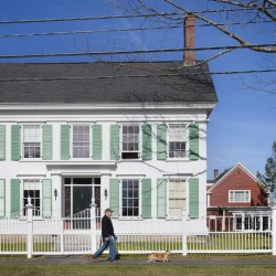 The Stowe House, at 63 Federal St. in Brunswick, has been restored by Bowdoin College, which has owned the site since 2001.