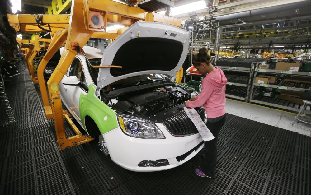 Gm profits more than double on record north america for General motors annual report 2010