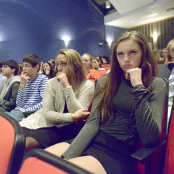 Students in a government class listen as the state supreme court hears oral arguments at Cape Elizabeth High School, one of three Maine high schools to land in the top 350 in recent nationwide rankings. Cape Elizabeth and other communities with significant financial resources score the highest in the categories used for these kinds of broad rankings.
