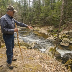 Ralph Hatt's decision to pass on his land along Mill Brook to the Mill Brook Preserve will have a major impact on alewives continuing their vital migratory spawning patterns.