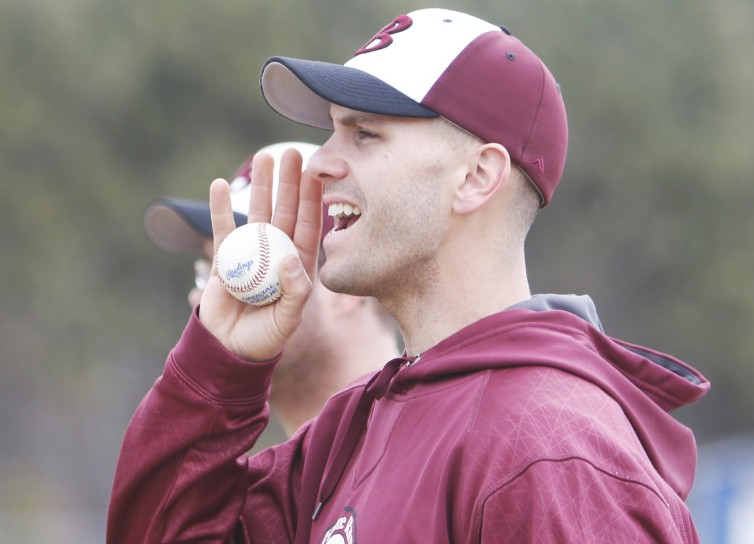 Chris Kroski, a former minor leaguer, was the only person to apply for Fryeburg Academy's baseball head coaching job.