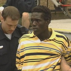 Jimmy Odong pleaded guilty as part of a plea agreement Wednesday to robbing four banks in Portland last year.