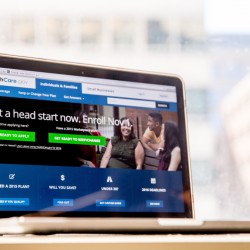 The HealthCare.gov website, where people can buy health insurance, is displayed on a laptop screen in Washington. Insurers are expected to seek significant premium increases for 2017.