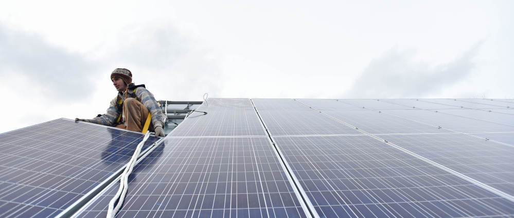 Good jobs, good wages and low-cost, clean energy are at stake in Friday's vote in the Legislature on overriding Gov. LePage's veto of the bill to expand the market for solar power in Maine.
