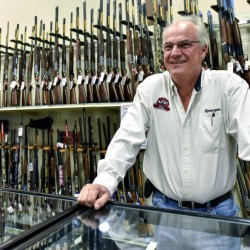 "Jay Wallace, founder of Adventure Outdoors in Smyrna, Ga., said, ""A firearm takes on a life of its own after it leaves. It can be bought and sold many times over."""