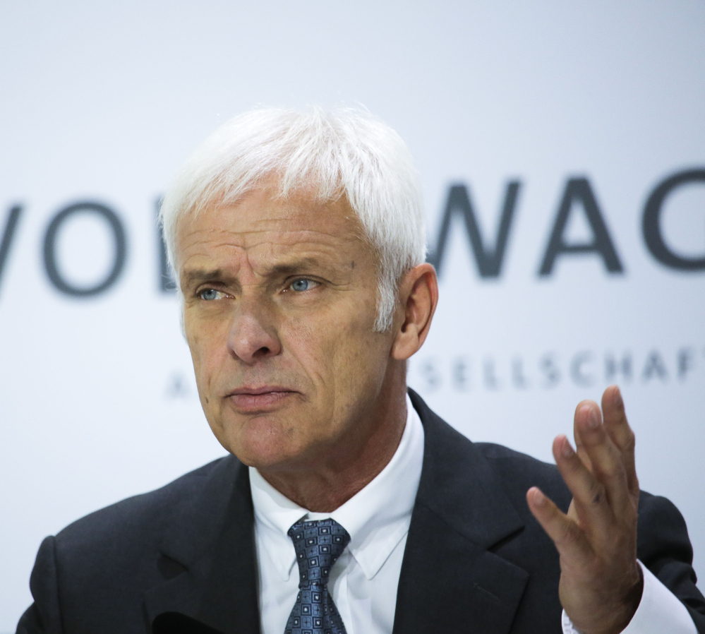 Vw Chief Says He Apologized To President Obama The