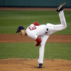 Red Sox starting pitcher Henry Owens allowed two runs on six hits in six innings in Boston's 4-2 win over New York on Friday at Fenway Park.