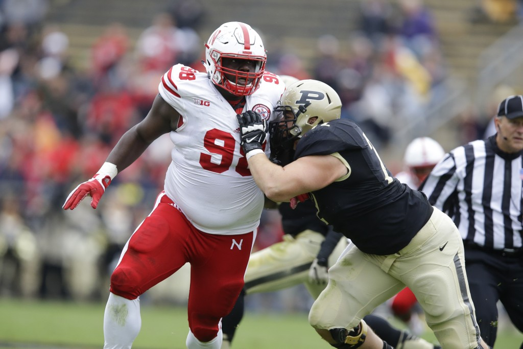 With their compensatory pick in the third round, 96th overall, the Patriots picked defensive tackle Vincent Valentine from Nebraska. The Associated  Press