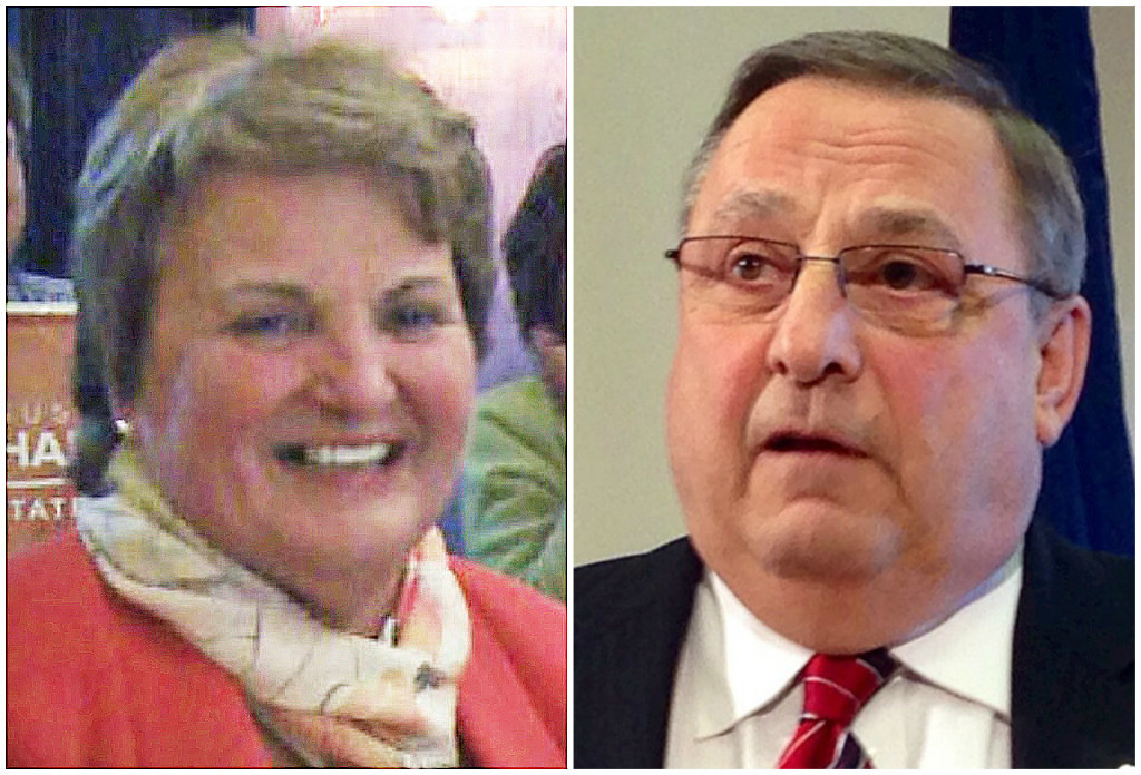 Susan Deschambault, who won a special election to fill the Maine Senate seat that includes Biddeford. Gov. Paul LePage canceled her swearing-in ceremony Friday because of an unrelated dispute with legislative Democrats.