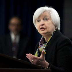 In this Wednesday, March 16, 2016, file photo, Federal Reserve Chair Janet Yellen speaks during a news conference after the Federal Open Market Committee meeting in Washington. The Associated Press