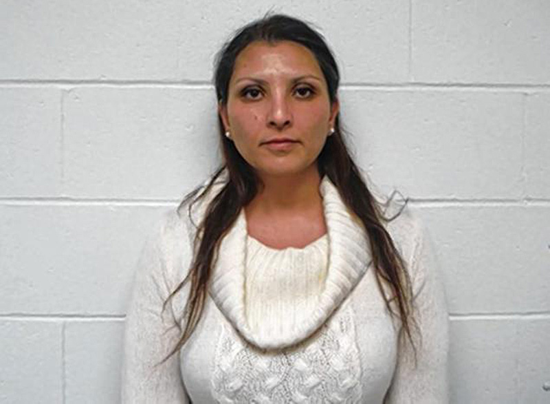 Rekha Luther. Pembroke, N.H., Police Department photo