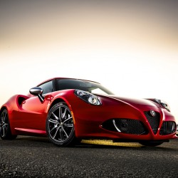 The 2016 Alfa Romeo 4C is an astoundingly fun and raucous machine that is one of the most stylish sports cars anywhere at any price. (A.J. Mueller/Alfa Romeo/TNS)