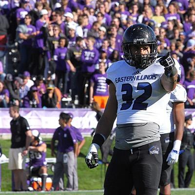 6TH ROUND (208): Linebacker Kamu Grugier-Hill of Eastern Illinois.