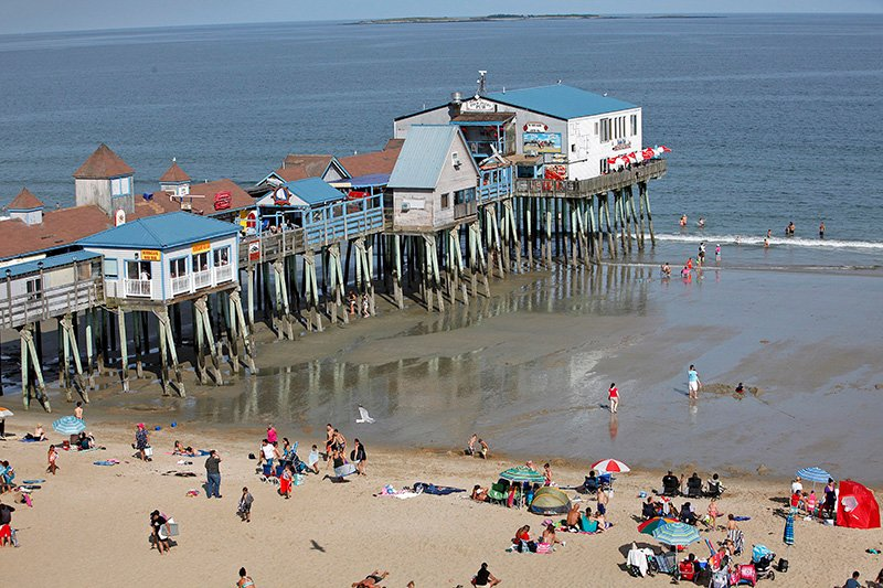 The Old Orchard Beach Pier