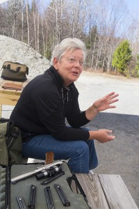 Sheri Oldham, president of the Rangeley Region Guide and Sportsman's Association.