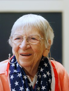 Florence Link, a resident at the Maine Veteran's Home in Scarborough, remembers her service with the Navy Waves during WWII.