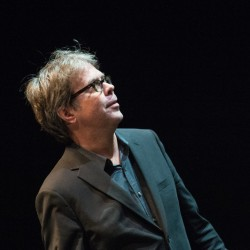 "Jonathan Franzen at a 2015 reading for his novel ""Purity,"" which is attracting bidders to develop it as a miniseries."