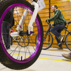 More than 1,000 bikes were available for sale, by individuals and dealers, at Sunday's Great Maine Bike SWap at the Unievrsity of Maine. The event is put on by the Bicycle Coalition of Maine.