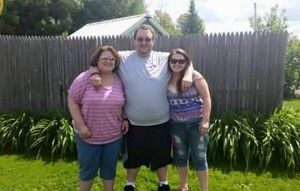 From left, siblings Tabitha Washburn, Toby Norsworthy and Jessi Norsworthy, in an undated Facebook photo. Toby Norsworthy, who grew up in Unity, died in Alabama April 24, less than 48 hours after his wife, Jennifer, died.