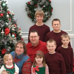 Toby and Jennifer Norsworthy are shown with their six children. The couple died within 48 hours of each other on April 22 and April 24. Toby Norsworthy grew up in Unity and graduated from Mount View High School in 1996.