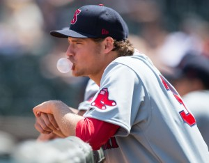 Expectations were high for Trey Ball when he came to the Red Sox organization as the seventh overall pick in the 2013 draft. Ball's rise through the organization hasn't been quick, and he's pitching his second straight season for Class A Salem.