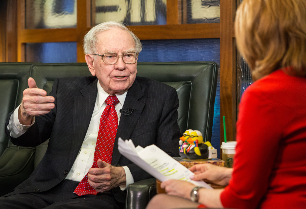 Berkshire Hathaway Chairman and CEO Warren Buffett estimates the annual Berkshire Hathaway shareholders meeting over the weekend drew 40,000 people.
