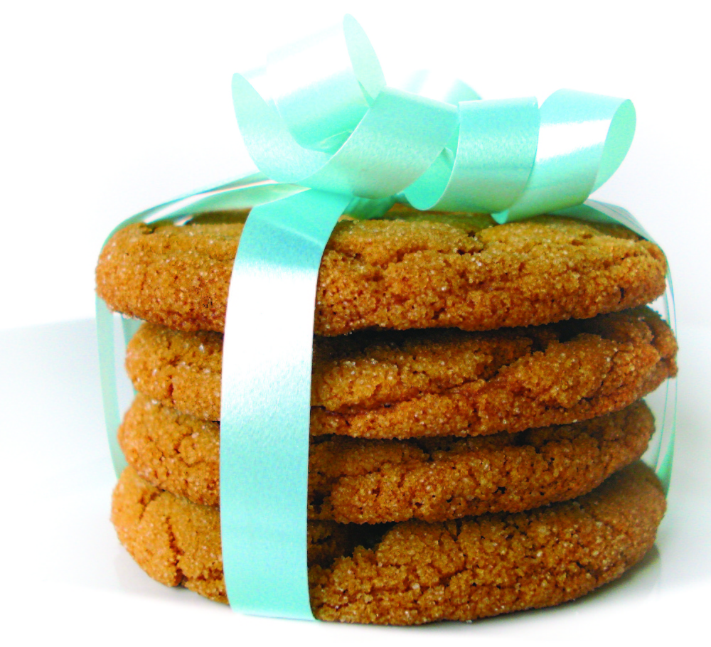 The gingersnaps are delicious, but consider doubling the recipe.