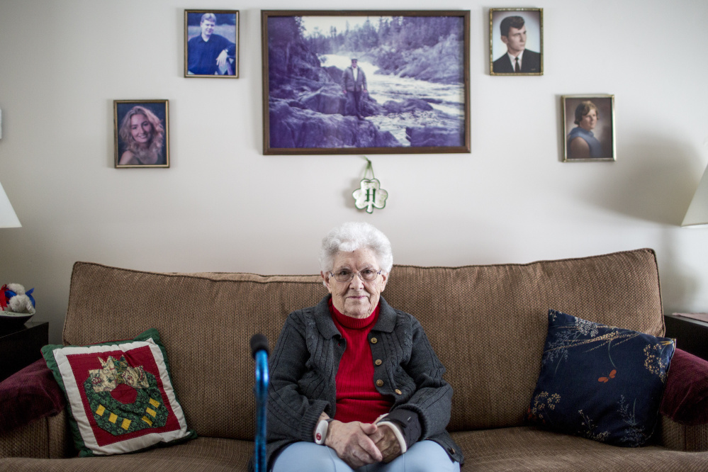 "Town matriarch Faye O'Leary Hafford, 91, says there was no need for the SWAT-style raid on Allagash in February 2014. ""That scared a lot of people, one car after another coming up the road,"" she says. ""I wasn't upset that they were doing their job. What bothered me is the way they handled it."""