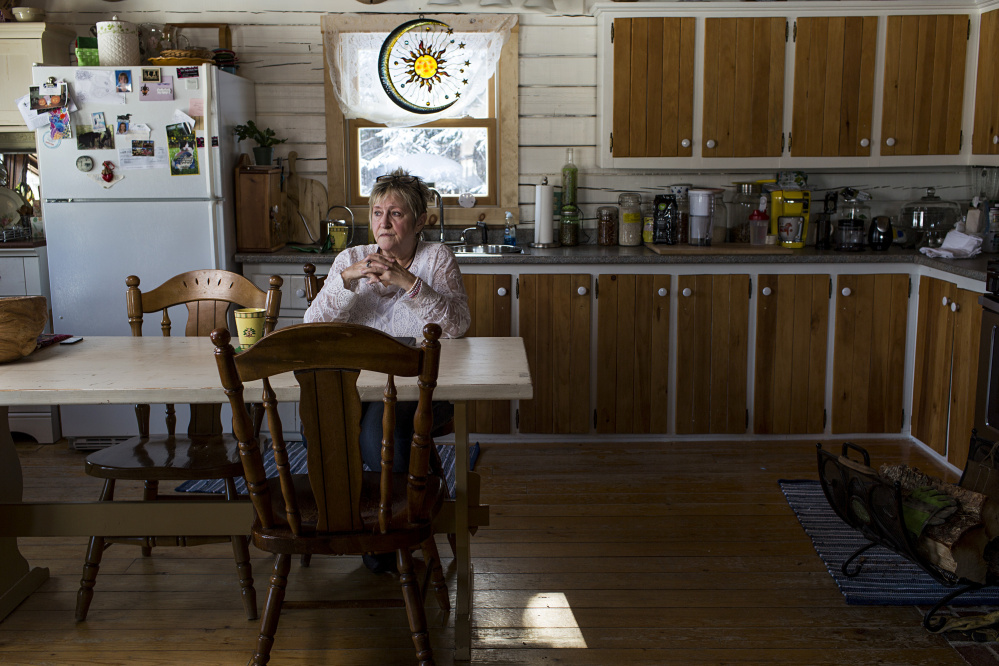 "Hope Kelly sits in the kitchen where she spent at least two hours as more than a half-dozen Maine game wardens searched her home during a 2014 sting operation. The wardens removed 110 jars of her home-canned fruits and vegetables and 36 jars of moose meat. The meat was never proven to be illegally obtained, but it didn't matter: All Kelly ever got back was 33 pints of the garden goods. ""I'm assuming they ate"" the rest, she says."