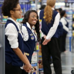 "Entrances will resound with ""Welcome to Wal-Mart"" once again as the company takes a series of measures to improve the in-store experience for customers."