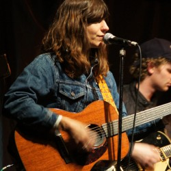 Robert Ker photo Eleanor Friedberger at One Longfellow Square Thursday.
