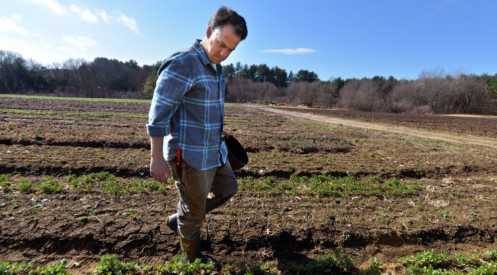 Massachusetts farmers like Chris Kurth, owner of Sienna Farms in Sudbury, need a succession plan for when they get older so they can turn their farms over to an experienced farmer, an advocacy group says.