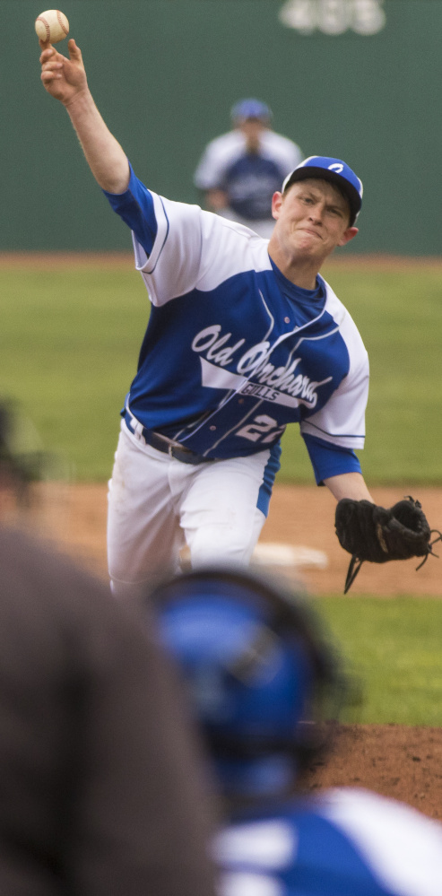 Logan Melnik pitched six strong innings in relief of injured starter Dylan Creswell but was charged with a loss despite giving up only one run and five hits.