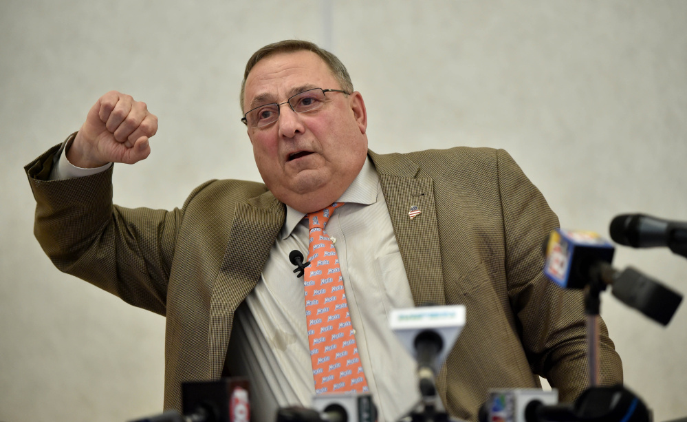 Gov. Paul LePage is standing by his account of a Deering High School student overdosing three times, and suggested Monday that Maine schools may not be reporting overdoses.
