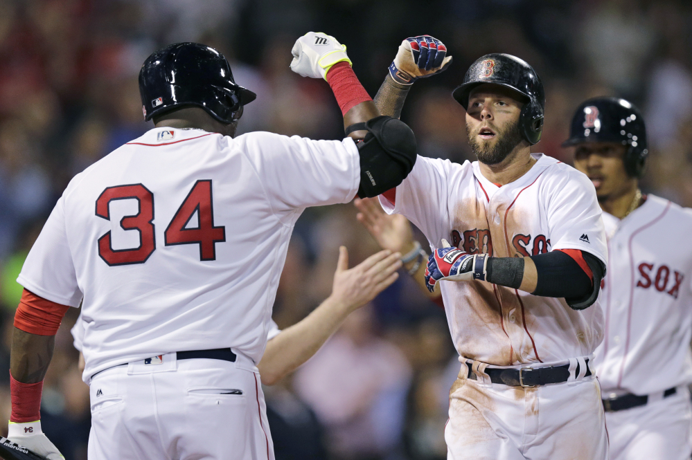 Dustin Pedroia hasn't been as big a big story for the Red Sox this season as his teammate David Ortiz, but he has reclaimed his spot as one of baseball's most consistent hitters.