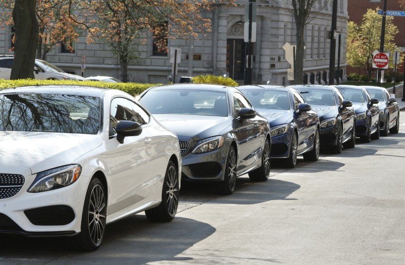 Mercedes takes shine to Portland as backdrop for launch of coupe - The Portland Press Herald / Maine Sunday Telegram