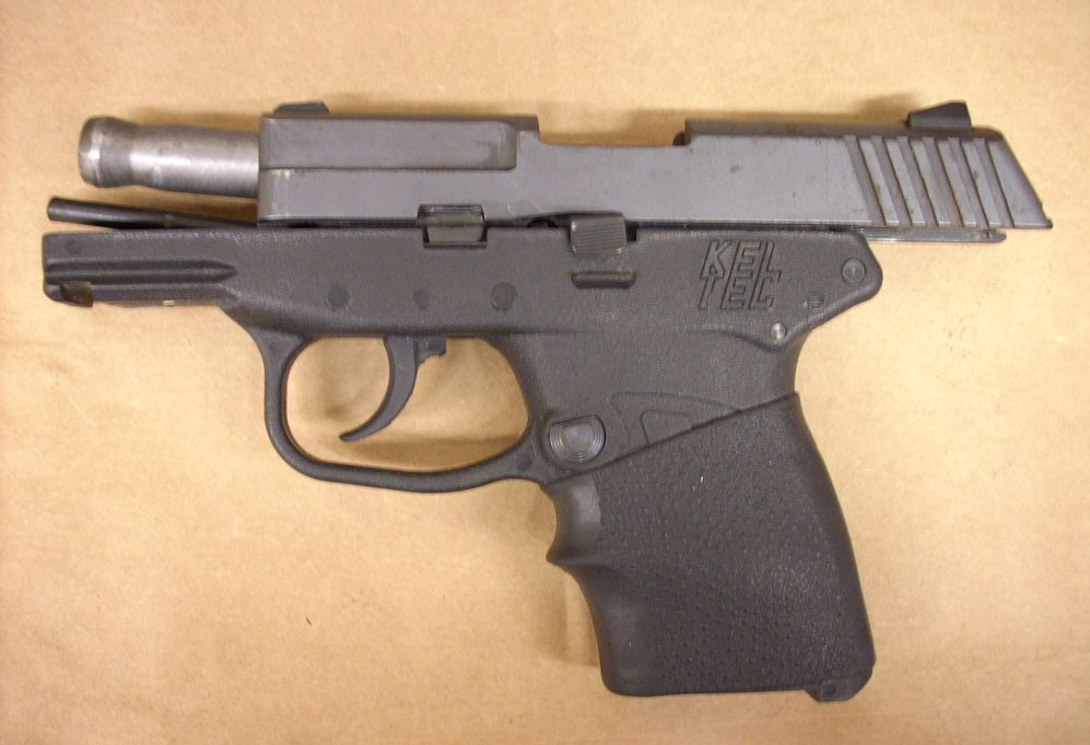 The handgun used in the shooting death of Trayvon Martin is seen this handout photo provided by the State Attorney's Office on May 17, 2012.  Courtesy State Attorney's Office/Handout via REUTERS   ATTENTION EDITORS - THIS IMAGE WAS PROVIDED BY A THIRD PARTY. EDITORIAL USE ONLY - RTX2DZTQ