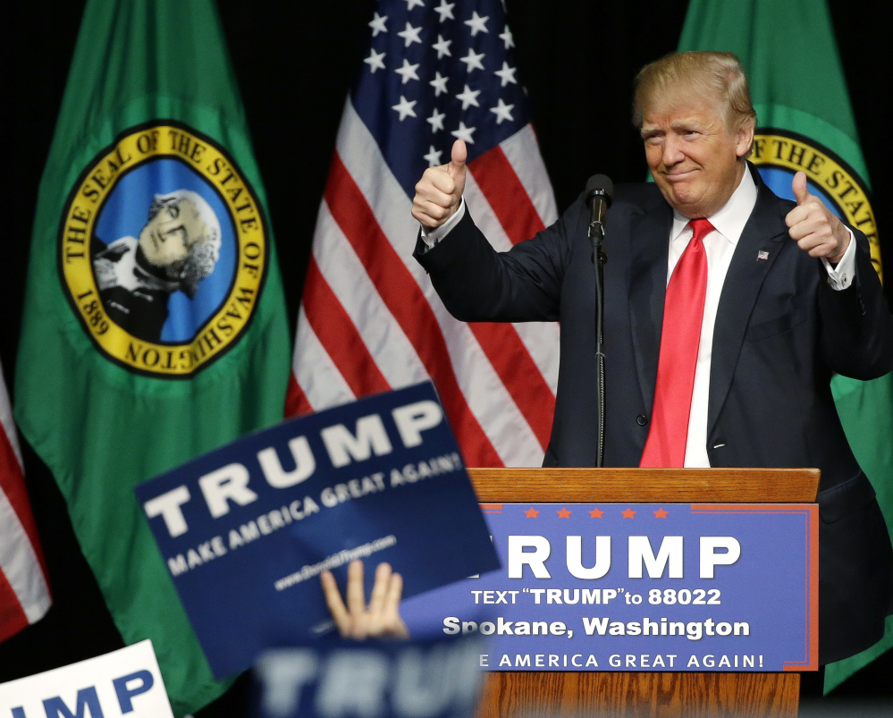Republican presidential candidate Donald Trump may be the presumptive nominee but he has some important detractors within his party.