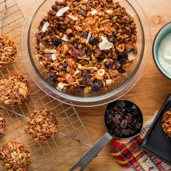 Homemade granola will not just be as good as what you typically purchase, but also better.