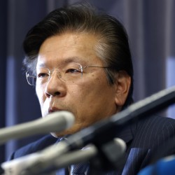 Mitsubishi Motors Corp. President Tetsuro Aikawa's resignation is expected to become final June 24, upon shareholders' approval. No successor has been named.